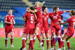 Qualificazioni Europei Femminili: l'Italia sbatte contro la Danimarca
