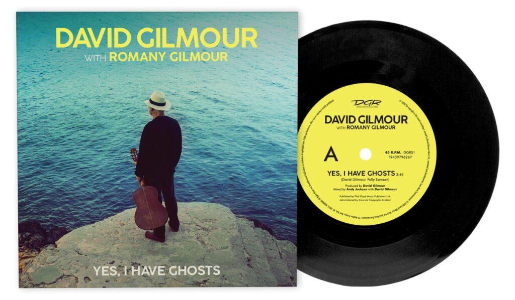 "DAVID GILMOUR: ESCE IL VINILE 7"" DI ""YES, I HAVE GHOSTS"""