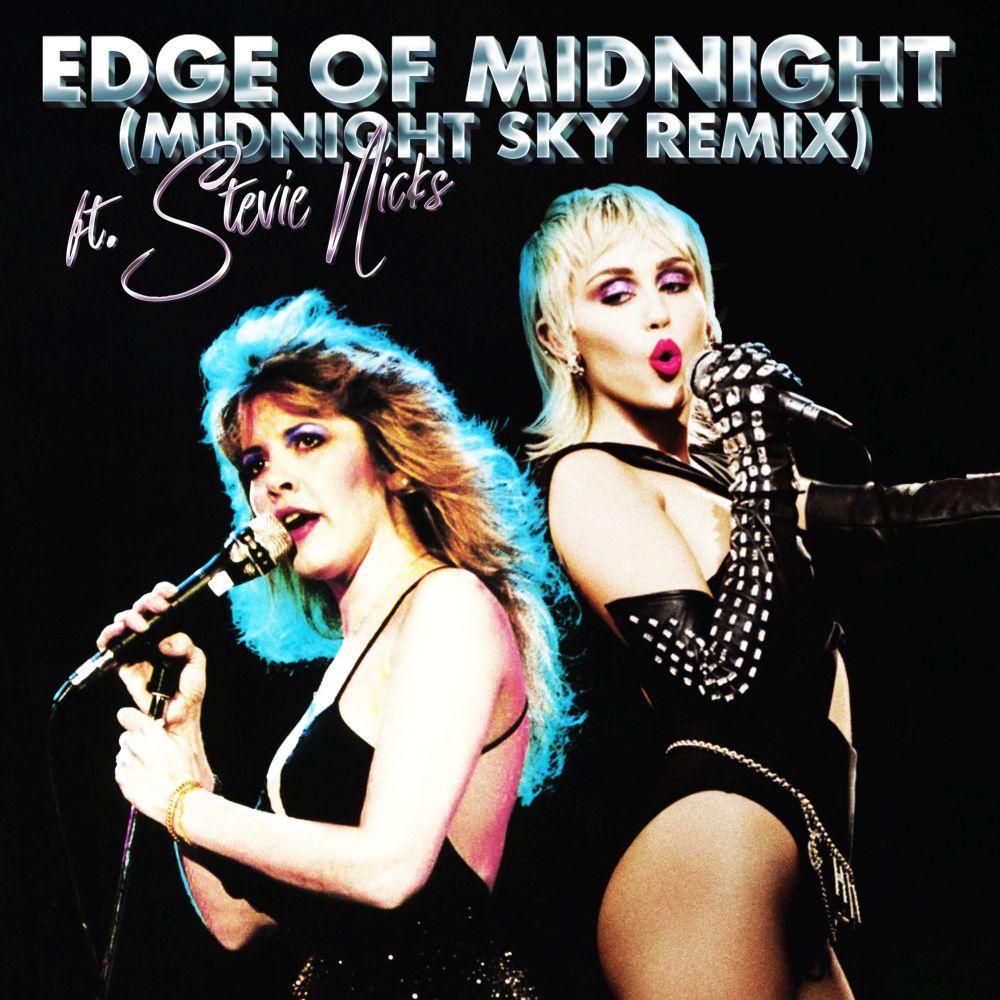 """""""Edge of Midnight"""": il remix di """"Midnight Sky"""" di Miley Cyrus feat. Stevie Nicks"""