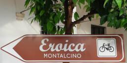 Itinerario lungo le più belle strade bianche della Toscana: Eroica - P.te 1