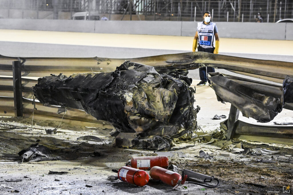 incidente romain grosjean