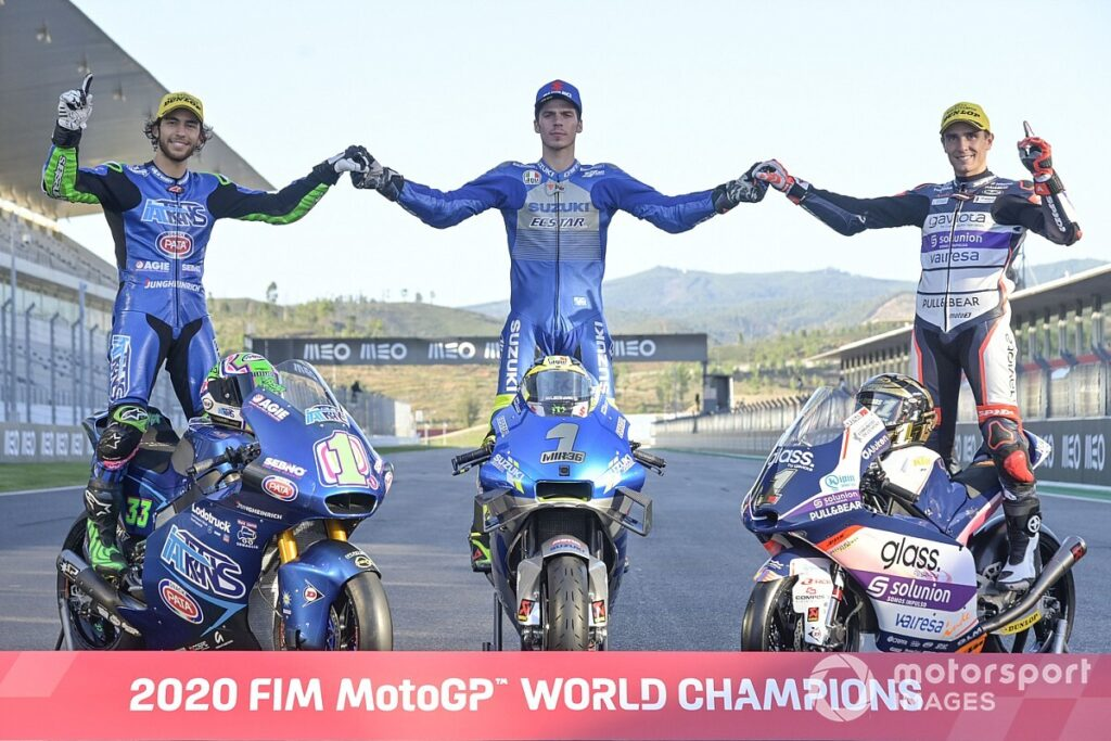 Motociclismo Campioni del Mondo 2020