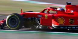 Ferrari primi test a Fiorano, debutto positivo per Sainz in rosso
