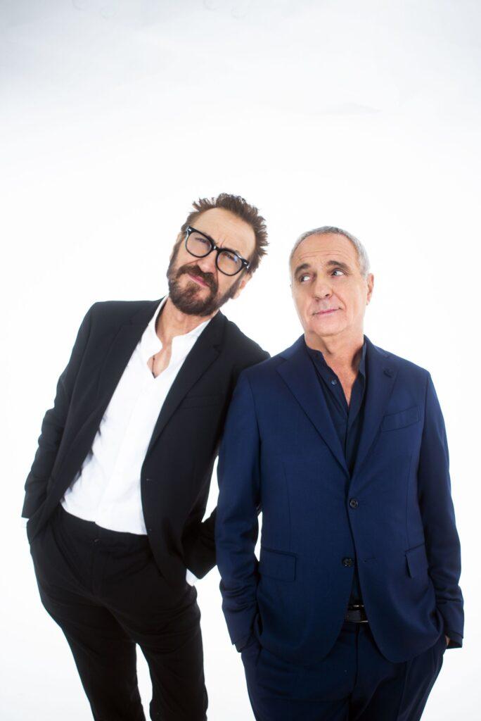 """""""Lui è peggio di me"""" Marco Giallini e Giorgio Panariello"""
