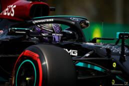 F1 Hamilton conquista la pole ad Imola