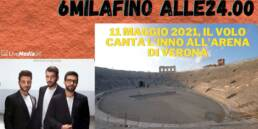 All' Arena in 6000 fino  alle 24.00